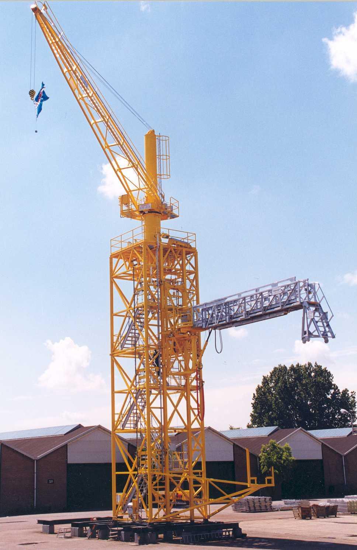 Aanbfoto - toren crane - 0377 op proefstand